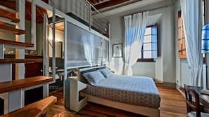 Premium bedding, down comforters, memory foam beds, free minibar items