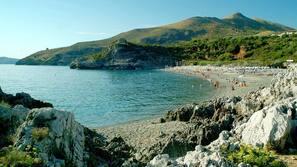 On the beach, free beach shuttle, sun loungers, beach umbrellas