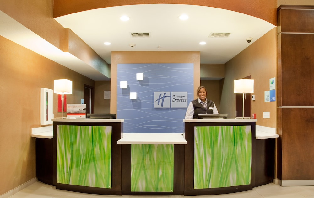 Reception, Holiday Inn Express & Suites St Louis Airport, an IHG Hotel
