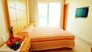 Minibar, caja fuerte, cunas o camas infantiles gratuitas y wifi gratis