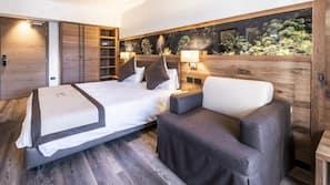 Una cassaforte in camera, insonorizzazione, Wi-Fi gratuito, lenzuola