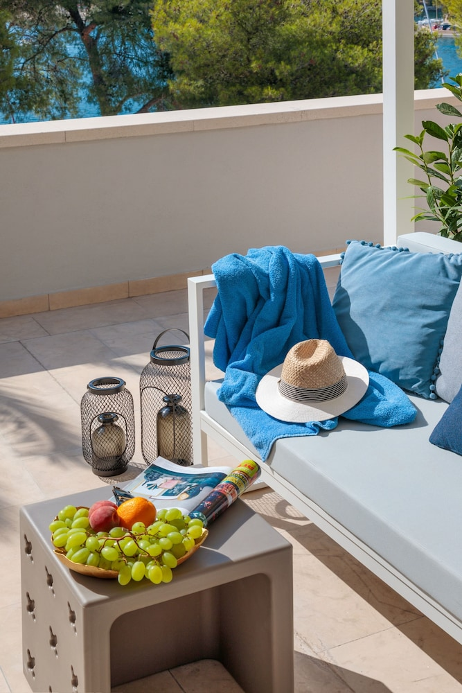 Balcony, Hotel Milna Osam - Adults only
