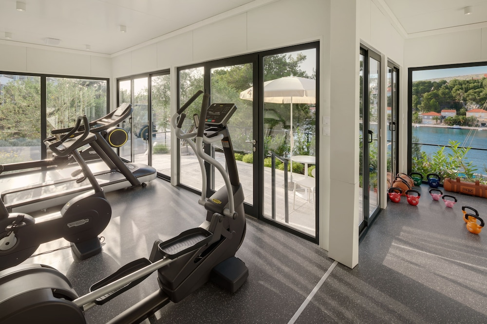Gym, Hotel Milna Osam - Adults only