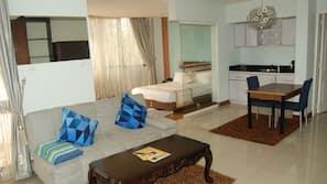 2 chambres, literie de qualité supérieure, couette en duvet d'oie