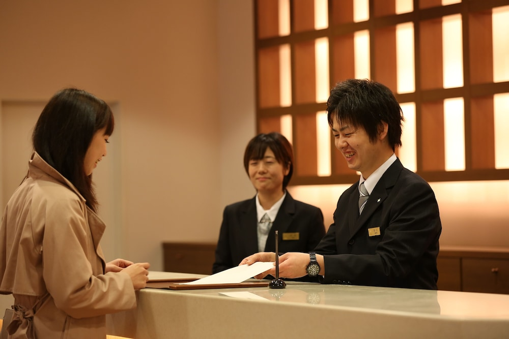 Reception, Arima Kirari (Previously Arima View Hotel Urara)