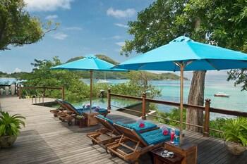 Round Island, Sainte Anne Marine Park, Seychelles.