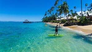 Private beach, snorkeling, surfing, kayaking