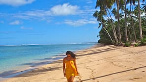 Private beach, snorkelling, surfing, kayaking