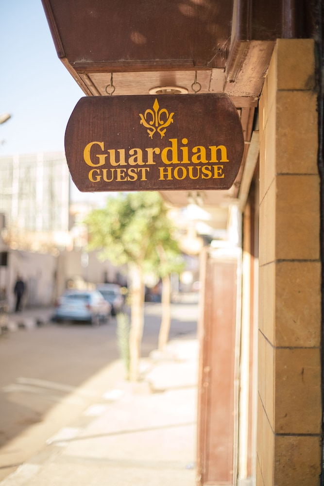 Exterior detail, Guardian Guest House