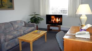 40-inch LED TV with cable channels