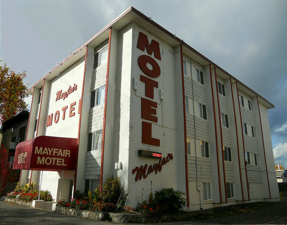Front of Property, Mayfair Motel