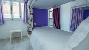 20 Schlafzimmer, Daunenbettdecken, Pillowtop-Betten
