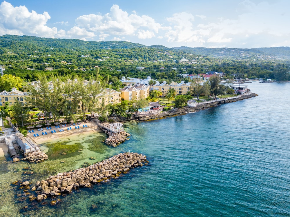 Aerial View, Jewel Paradise Cove Adult Beach Resort & Spa – All Inclusive