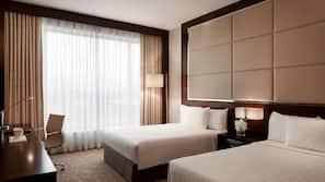 1 ห้องนอน, เครื่องนอนระดับพรีเมียม, มินิบาร์, ตู้นิรภัยในห้องพัก