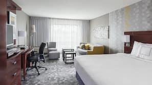 1 dormitorio, colchones con acolchado adicional, escritorio