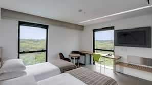 1 bedroom, minibar, in-room safe, blackout curtains