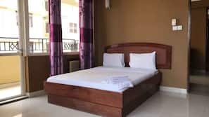 Premium bedding, memory foam beds, soundproofing, iron/ironing board