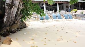 Beach nearby, scuba diving, snorkelling, beach bar