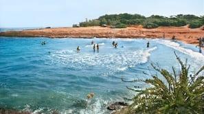 Una spiaggia nelle vicinanze, pesca