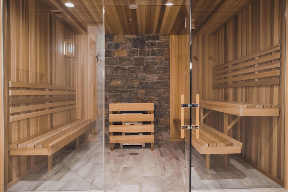 Sauna, Tailwater Lodge Altmar, Tapestry Collection by Hilton