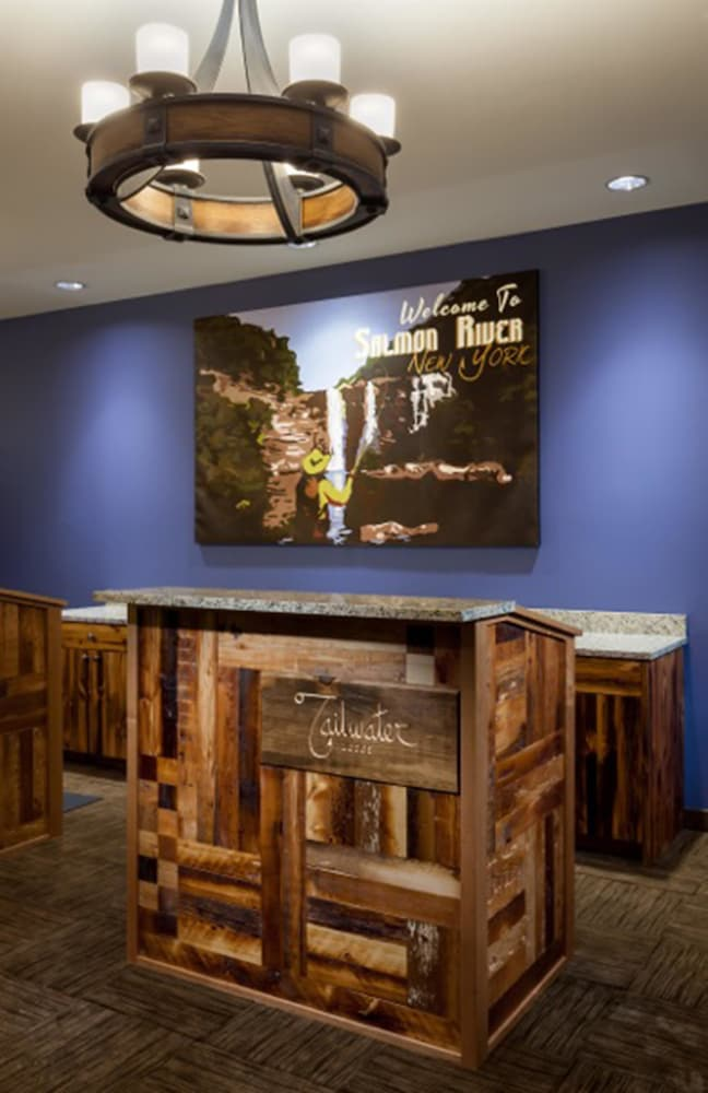 Reception, Tailwater Lodge Altmar, Tapestry Collection by Hilton