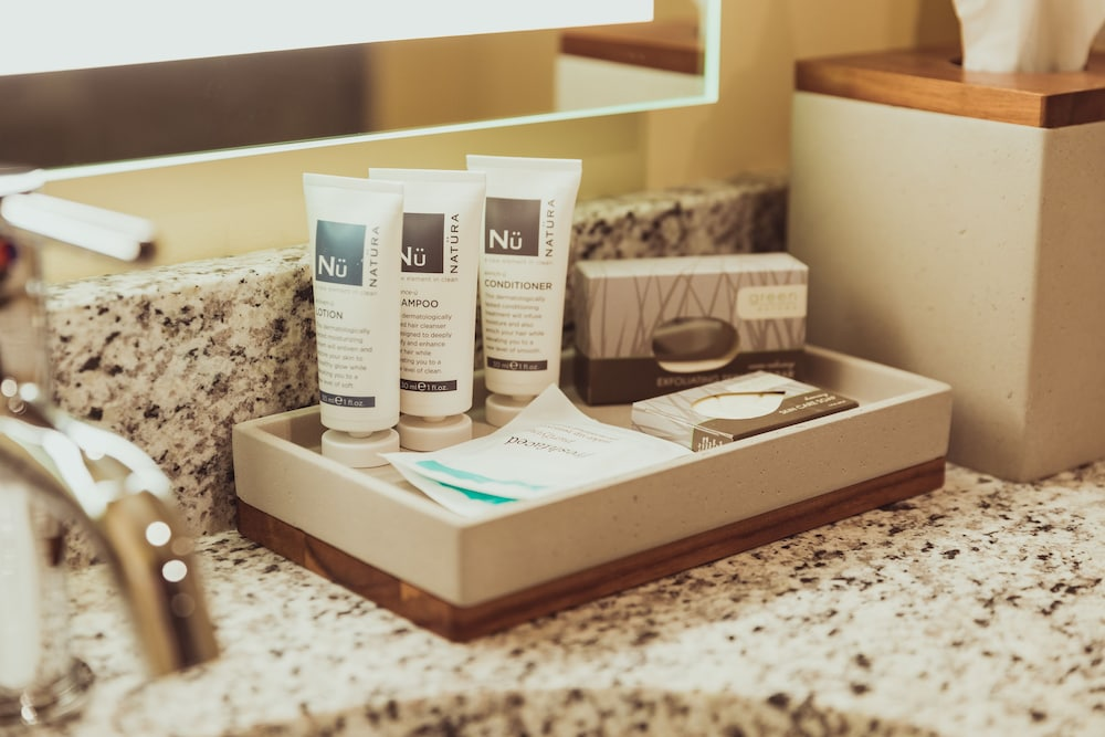 Bathroom Amenities, Tailwater Lodge Altmar, Tapestry Collection by Hilton