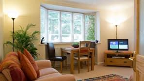32 吋LCD 電視連數碼電視頻道、壁爐、DVD 播放機
