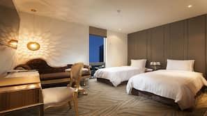 고급 침구, 오리/거위털 이불, 셀렉트 컴포트 침대, 무료 미니바 품목