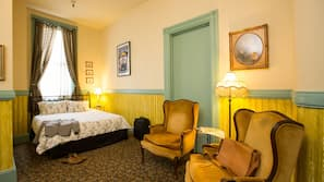 Individually decorated, free WiFi, linens, wheelchair access