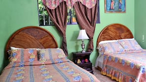 Down comforters, Select Comfort beds, individually decorated