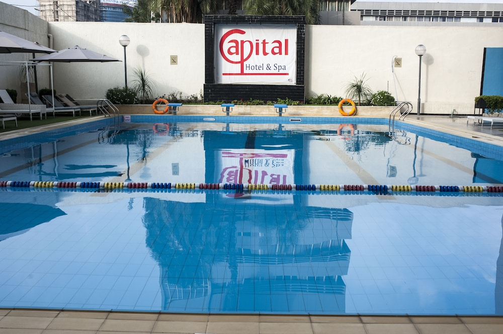 Outdoor Pool, Capital Hotel & Spa