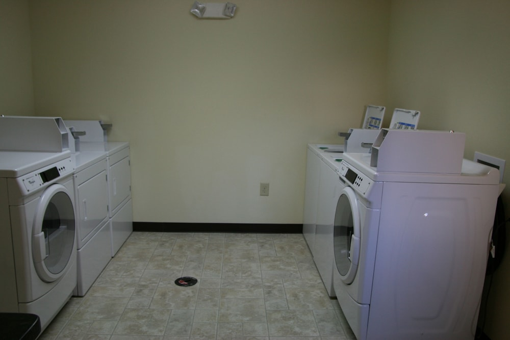 Laundry Room, Affordable Suites Fayetteville