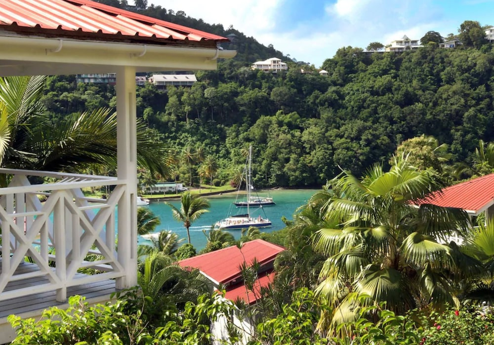 View from Room, Oasis Marigot Hotel & Villas