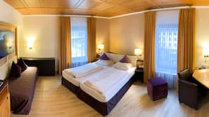 Premium bedding, pillow-top beds, minibar, individually furnished
