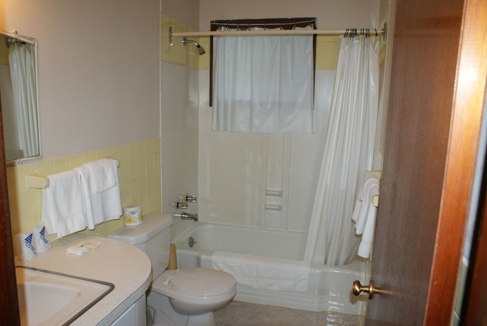 Bathroom, Regent Motel