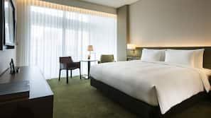 防敏寢具、羽絨被、特厚豪華床墊、房內夾萬