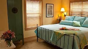 Premium bedding, pillowtop beds, iron/ironing board, free rollaway beds