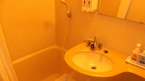 Free toiletries, hair dryer, bathrobes, electronic bidet
