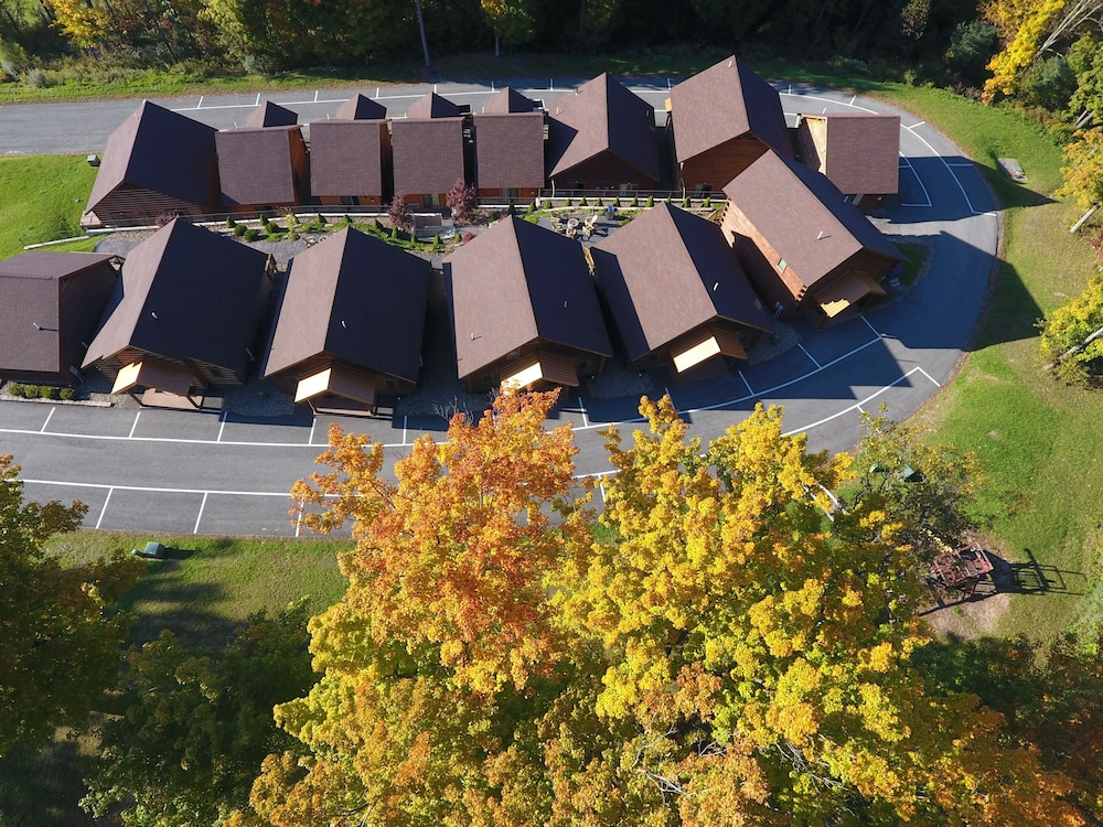 Aerial View, The Lodges at Sunset Village
