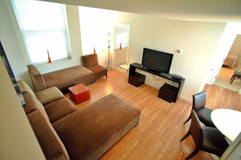 Room, Pittsfield Apartments + Suites