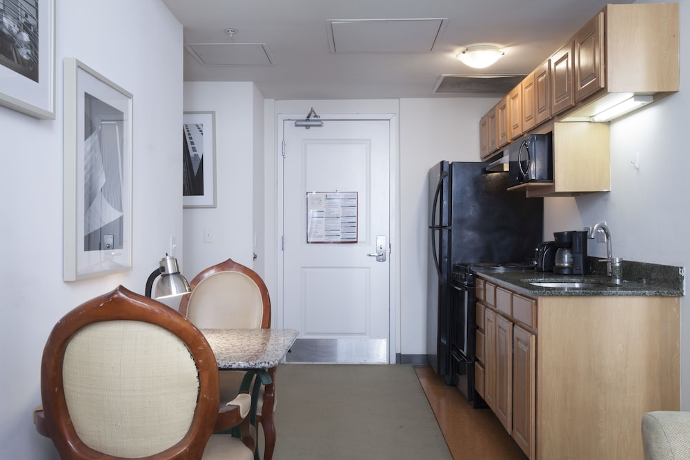 Private Kitchenette, Pittsfield Apartments + Suites