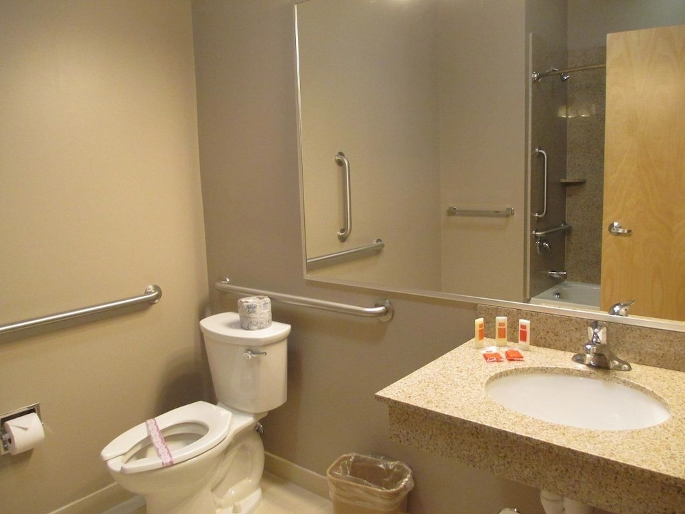 Bathroom, Red Carpet Inn And Suites Monmouth Jtc