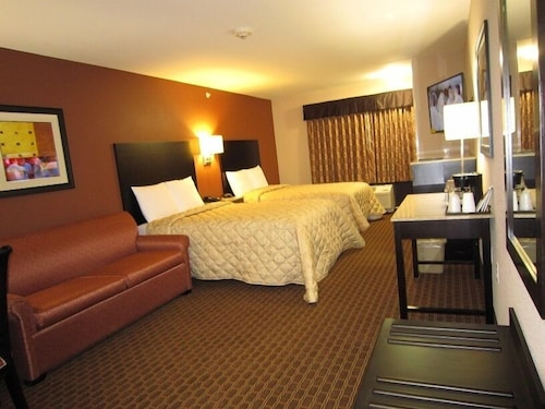 Room, Red Carpet Inn And Suites Monmouth Jtc