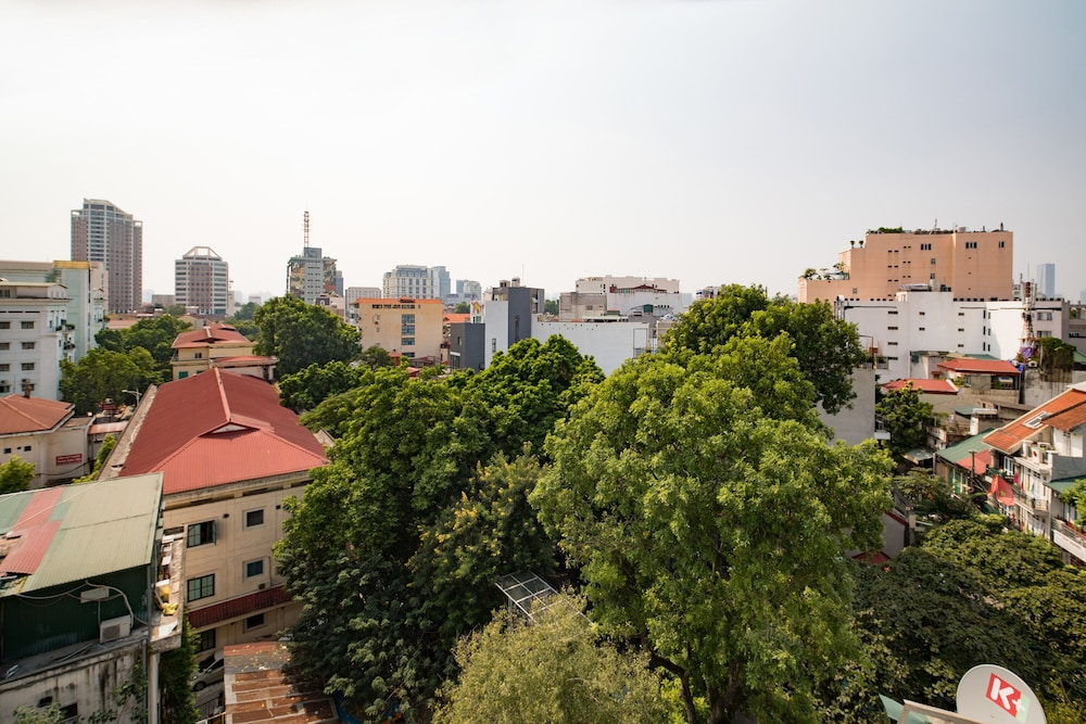 View from Room, Hanoi Royal Palace Hotel 2