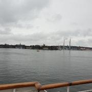 Utsikt mot vattnet