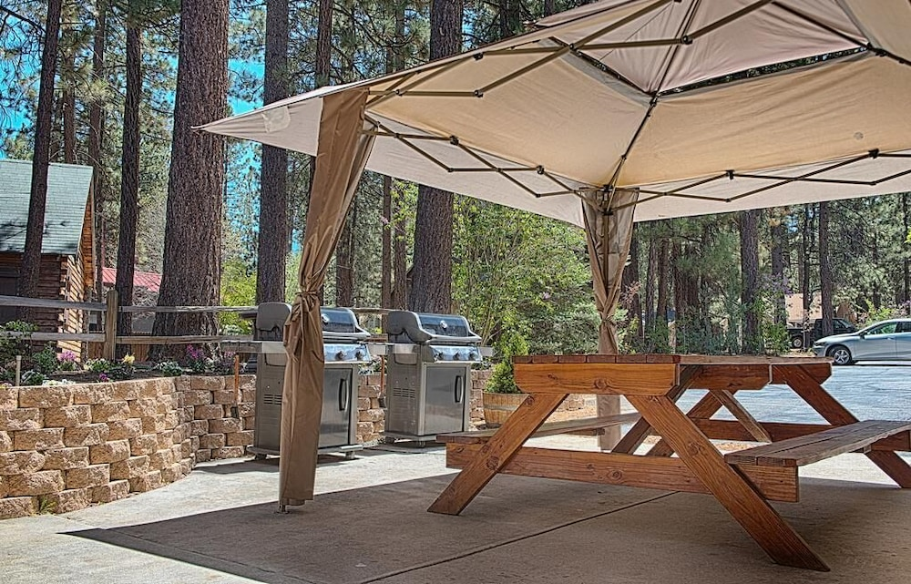 BBQ/Picnic Area, Getaways at Snow Lake Lodge