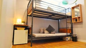 ผ้านวมขนเป็ด, เตียง Select Comfort, โต๊ะทำงาน, ผ้าม่านกันแสง