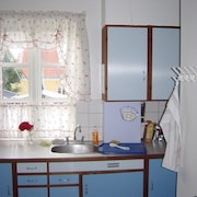 Værelse med køkken