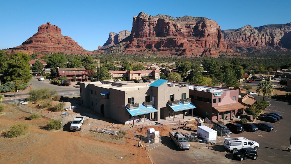 Aerial View, Sedona Village Lodge