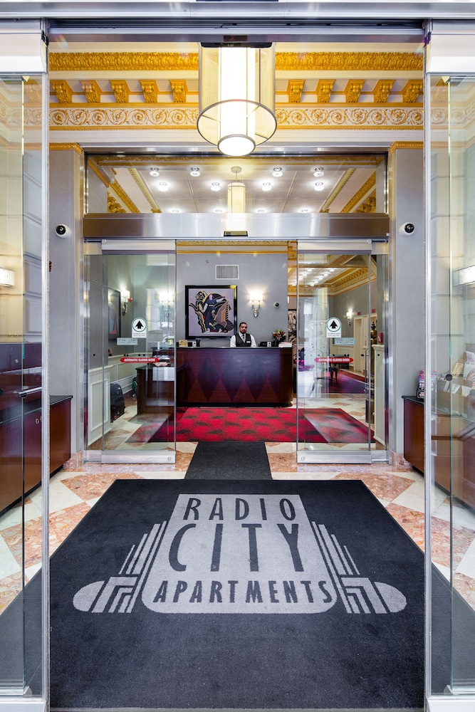 Radio City Apartments 3 5 Out Of 0 View From Hotel Featured Image Interior Entrance